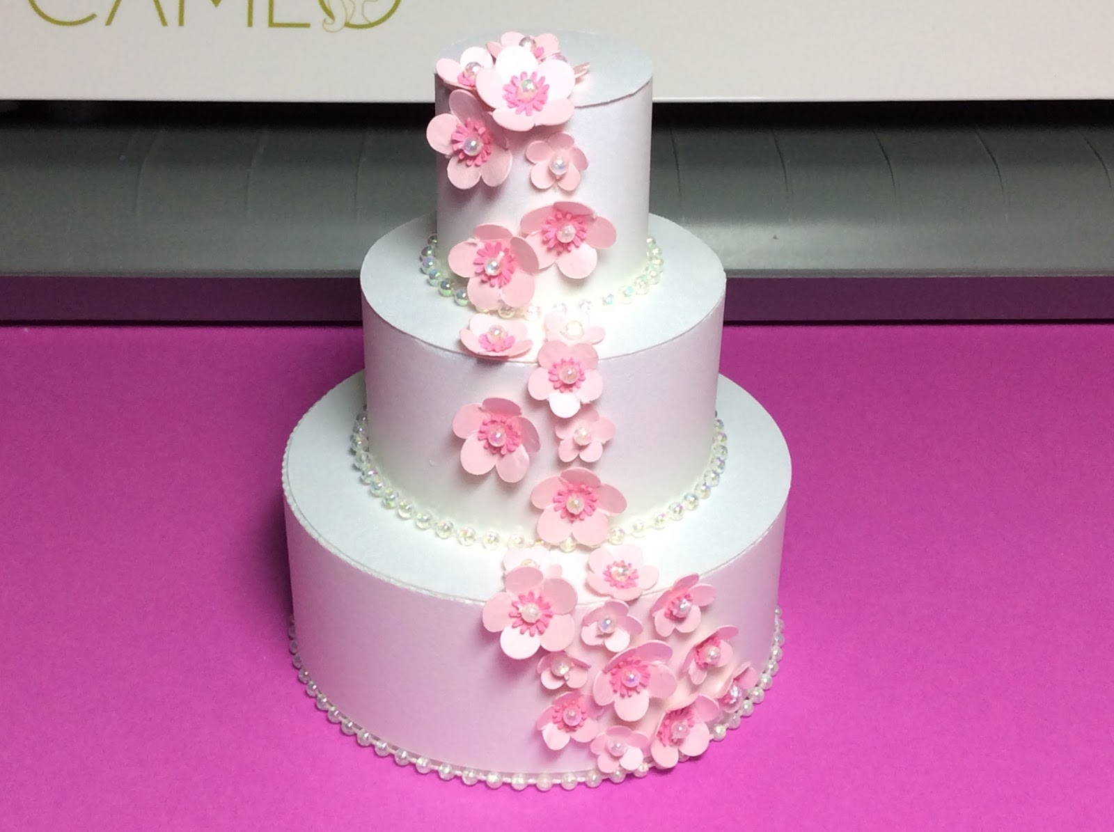 Papercrafts and other fun things: Cherry Blossom Three Tiered ...