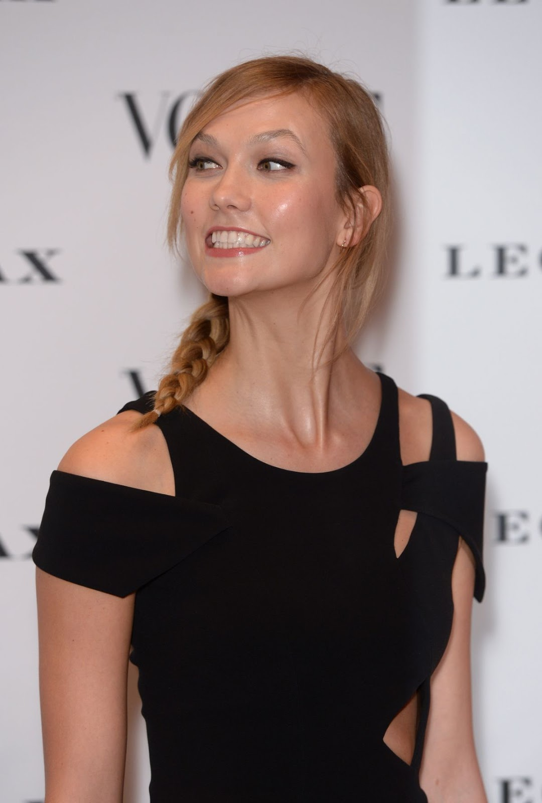 Vogue 100 - Karlie Kloss attends A Century of Style Fashion Exhibition in London