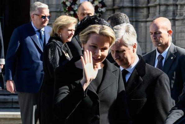 King Philippe, Queen Mathilde, Princess Astrid, Prince Lorenz and Prince Laurent