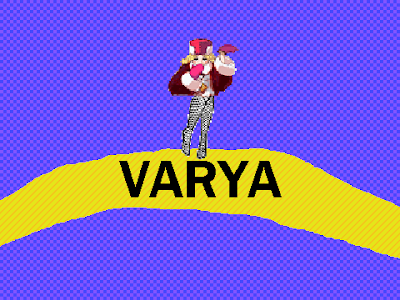 Soviet Missile Run Varya playable character protagonist title card introduction