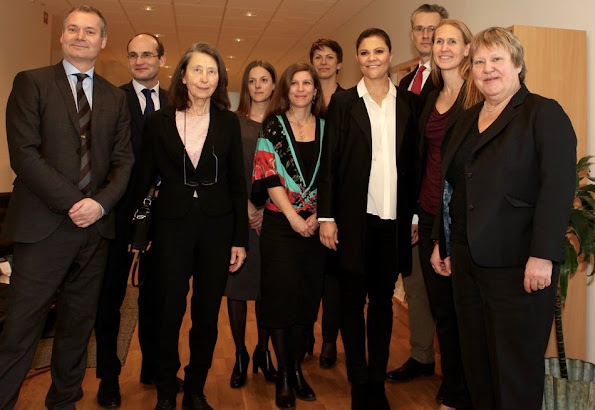 "Crown Princess Victoria of Sweden visited Stockholm Environment Institute as the new delegate of United Nations within the scope of ""The 2030 Agenda for Sustainable Development"""