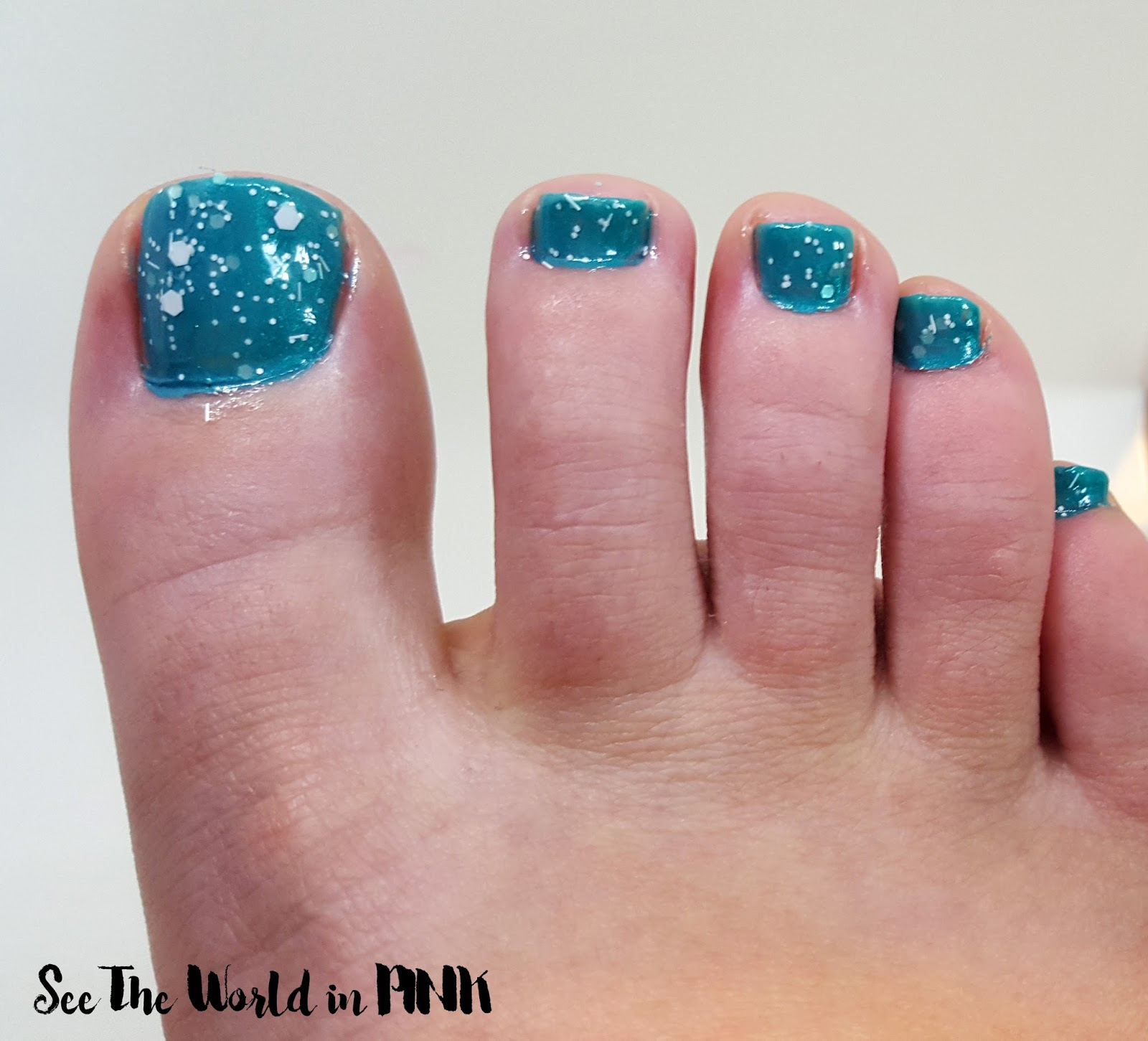 sally hansen the real teal polish