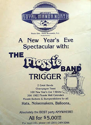 The Royal Manor North New Year's Eve Party with The Flossie Band and Trigger 1981/1982