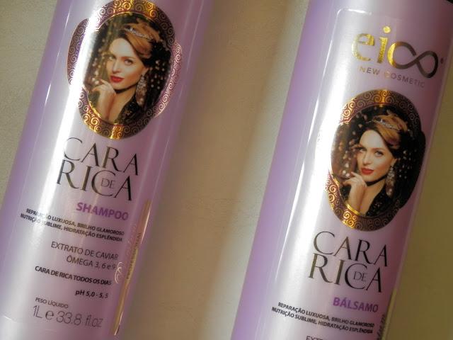 Resenha: Linha Cara de Rica - Shampoo e Bálsamo