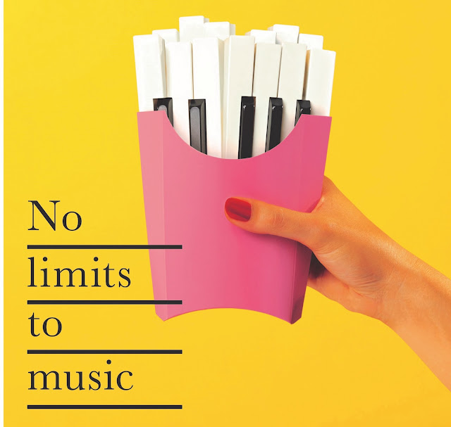 Betc And The Philharmonie De Paris Present: No Limits To Music Outdoor And Gif Campaign