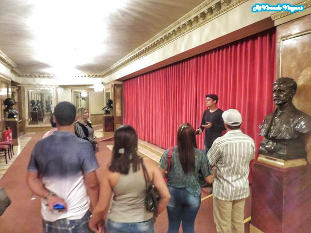 Visita guiada Teatro Municipal do Rio
