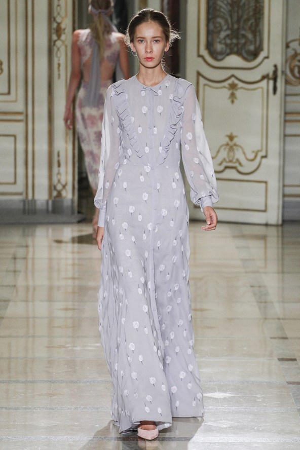 Luisa Beccaria at Milan Fashion Week Spring 2016