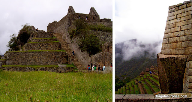 Praça principal de Machu Picchu, Peru