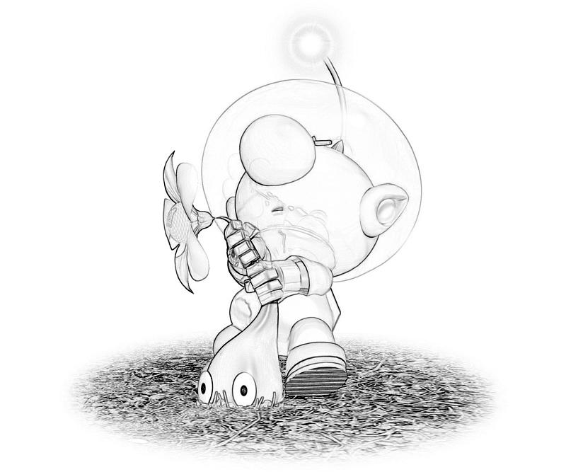 rock pikmin coloring pages - photo#22