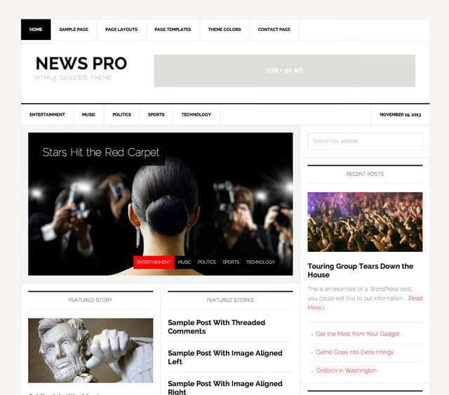 newspro-blog-template