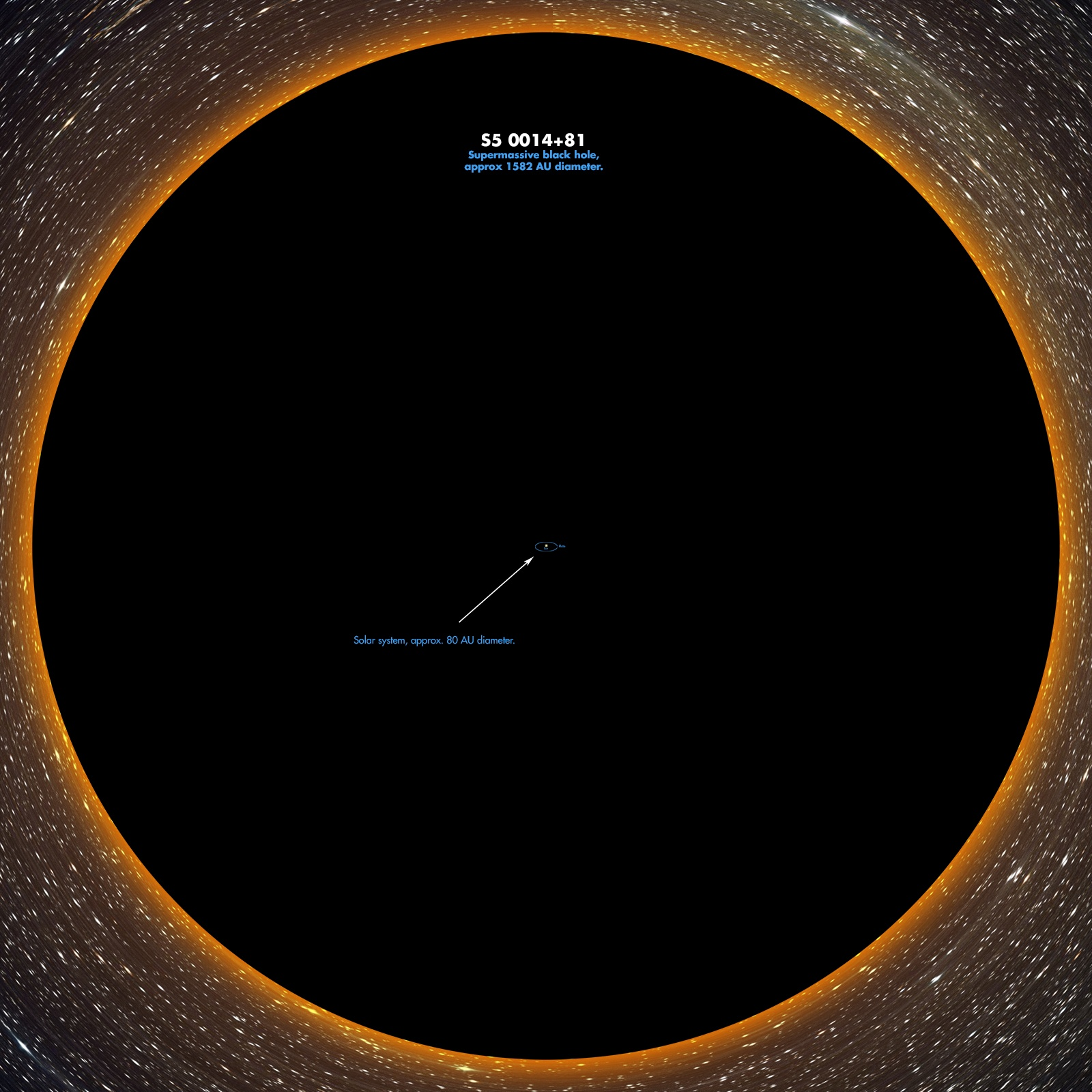 ده مورد از عجیبترین سیاه چالههای  جهان