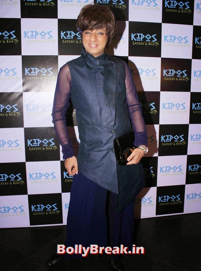 Rohit Verma, Tv Celebs at a restaurant launch