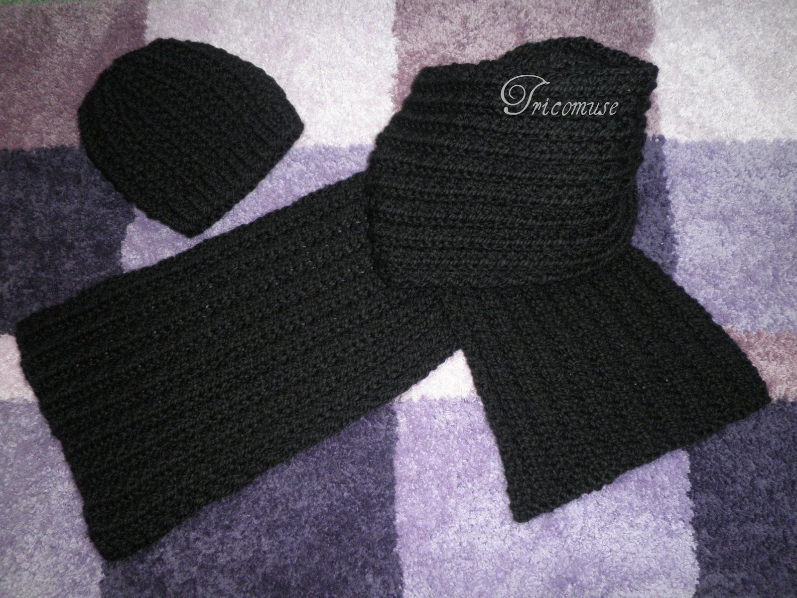 a1cbfd62408e J ai tricoté cette écharpe pour ma fille qui voulait une écharpe pas très  large mais bien longue pour la nouer en double.