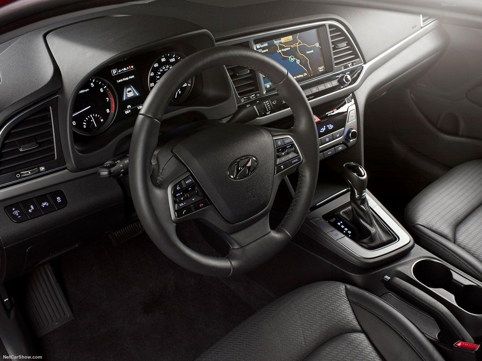 Hyundai Elantra 2017 Interior-Best Selling Cars