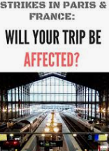 Will Your Travel Plans Affect?