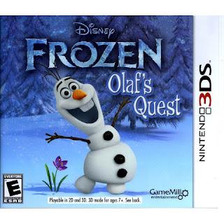 Disney Frozen Olafs Quest 3DS CIA USA