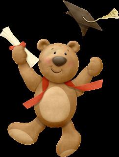 Bear Graduation Clip Art..