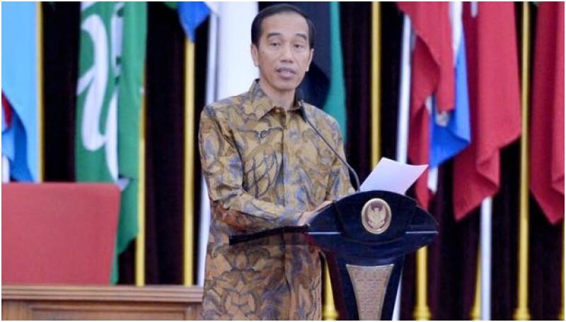 Jokowi menyebut menteri di kabinetnya ada 6 dari NU