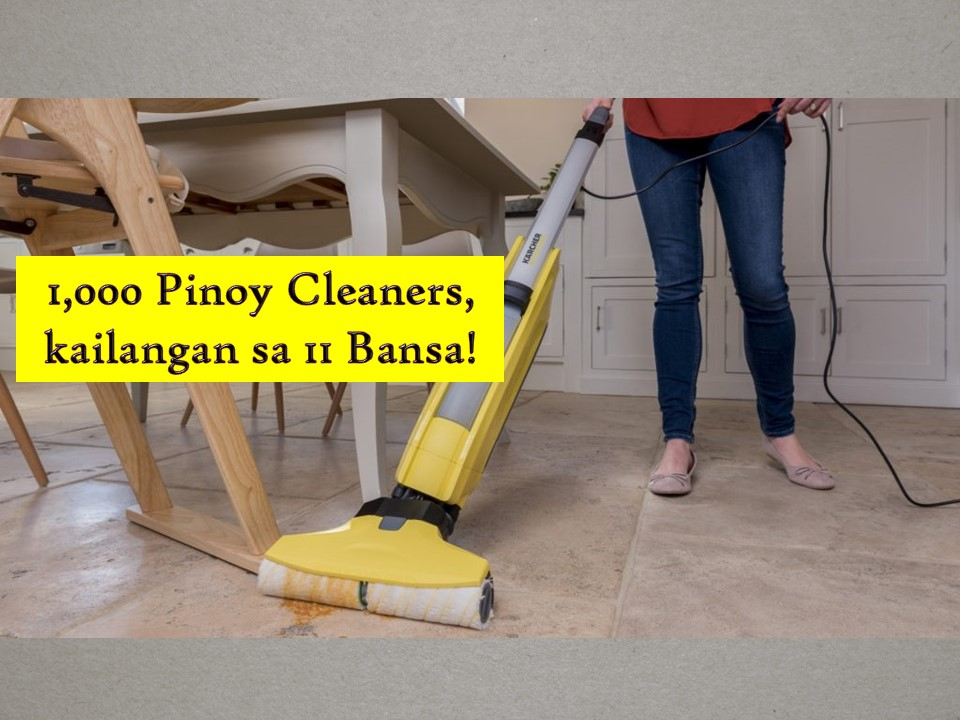 No doubt Filipino cleaners are still in demand in many countries around the world. As of March 2019, countries that in need of Filipino cleaners are — Qatar, Jordan, Saudi Arabia, Saipan, Kuwait, United Arab Emirates, Malta, Oman, Northern Mariana Island, Romania, and Bahrain. At least 1,000 cleaners are needed based on the job orders of the Philippine Overseas Emploument Administration (POEA).  Hired cleaners will work as a cleaner in general, cleaner in commercial spaces, restaurants, hospitals, public places or offices. Check the following job orders for cleaners you can apply for this month of May 2019.   Jbsolis.com is NOT a recruitment agency and we are NOT processing nor accepting applications for jobs abroad. All information in this article is taken from the website of POEA — www.poea.gov.ph for general purposes only. Recruitment agencies are being linked to each job order so that interested applicants may know where to coordinate and apply for their desired position.  Interested applicant may double-check the job orders as well as the license of the hiring recruitment agencies in the POEA website to make sure everything is legal.