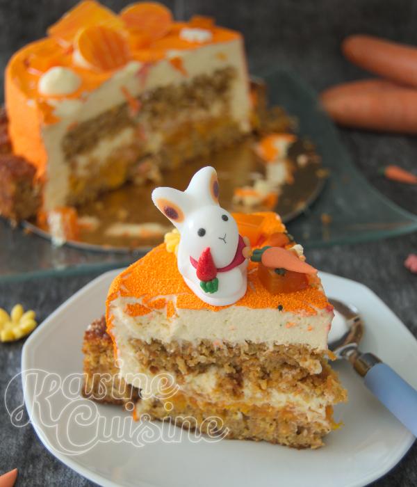 Carotte Cake Sans Gluten