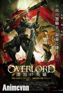 Overlord Movie 2: Shikkoku no Eiyuu -  2017 Poster