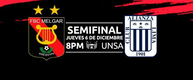 Melgar vs Alianza Lima - Precio de entradas - 06 de diciembre