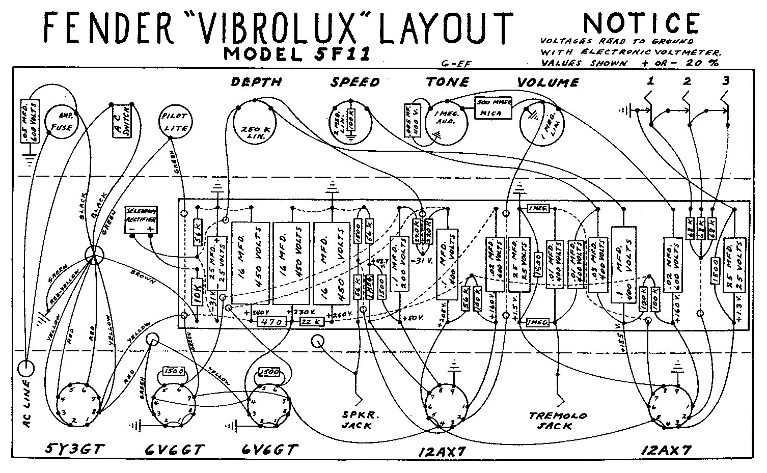 Infernal Industries: Vibrolux 5F11 (1956-1961)