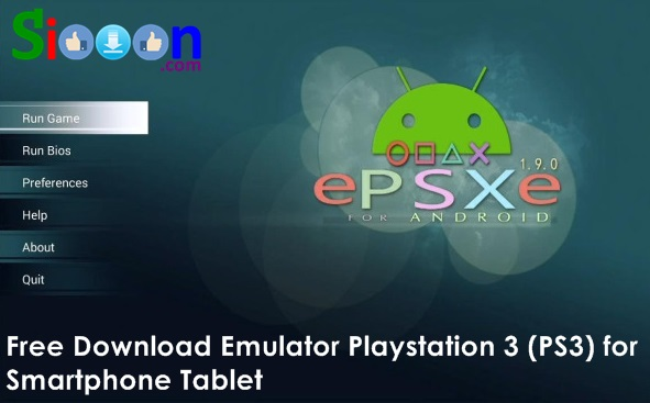 Play Games Playstation 1 PS1 on Smartphone or Tablet Using Emulator Epsxe Free Download