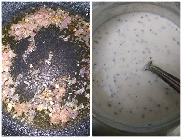 How to make Alfredo sauce