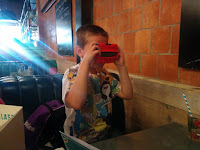 Jamie's Italian Review - Big Boy with his Viewmaster
