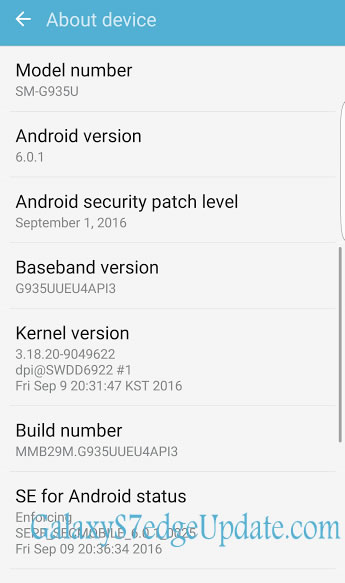 US Unlocked Galaxy S7edge Stock Firmware SM-G935U