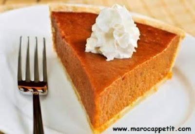 Recette de tarte au potiron sucrée | Sweet pumpkin pie recipe