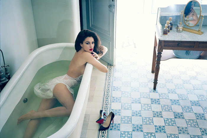 Sexy Monica Bellucci By Norman Jean Roy