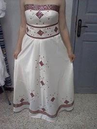 d87a6302457dd جديد اخر موديلات فساتين الاعراس الجزائرية صيفية 2014 - فساتين اعراس جميلة