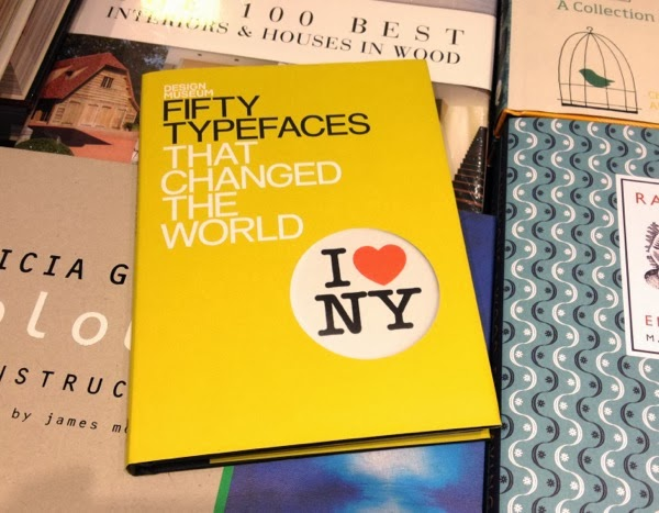 50 typefaces that changed the world book