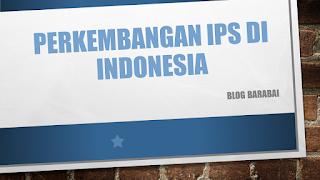 sejarah ips di Indonesia