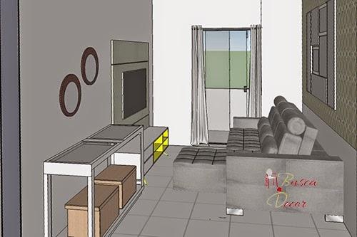 projeto apartamento pequeno