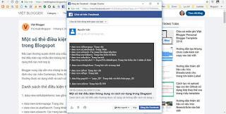 Hướng dẫn thêm hộp thoại chia sẻ Facebook vào bài viết