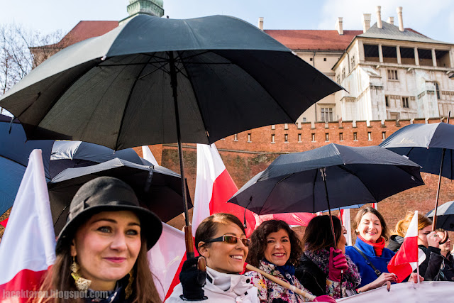 11 listopada 2016, krakow, polish indenpendent day, krakow; 11th november