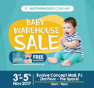 Motherhood Malaysia Warehouse Sales November 2017