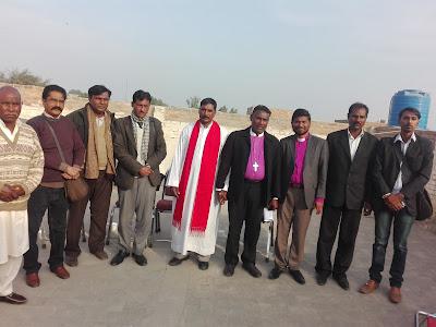 The Protest of Church leadership in Bahawalpur