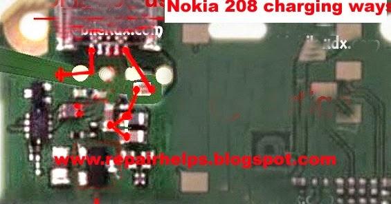 Repair Helps  Nokia 208 Charging Solution