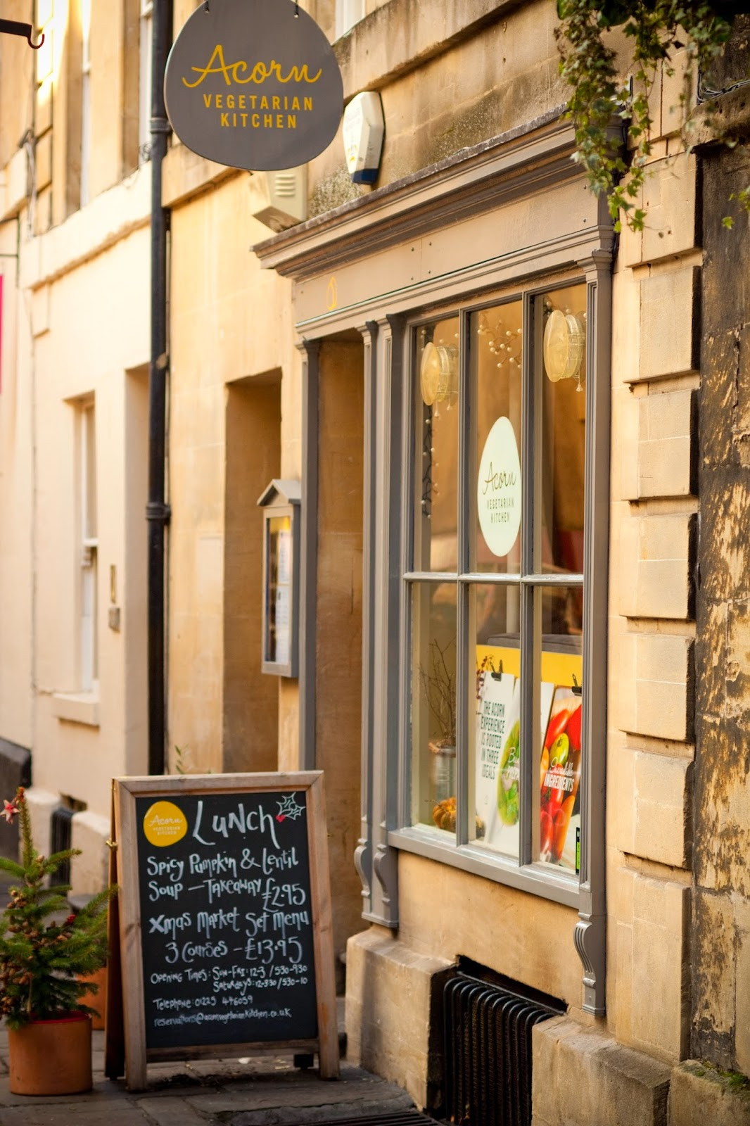Bread and Wine: REVIEW: Acorn Vegetarian Kitchen, Bath