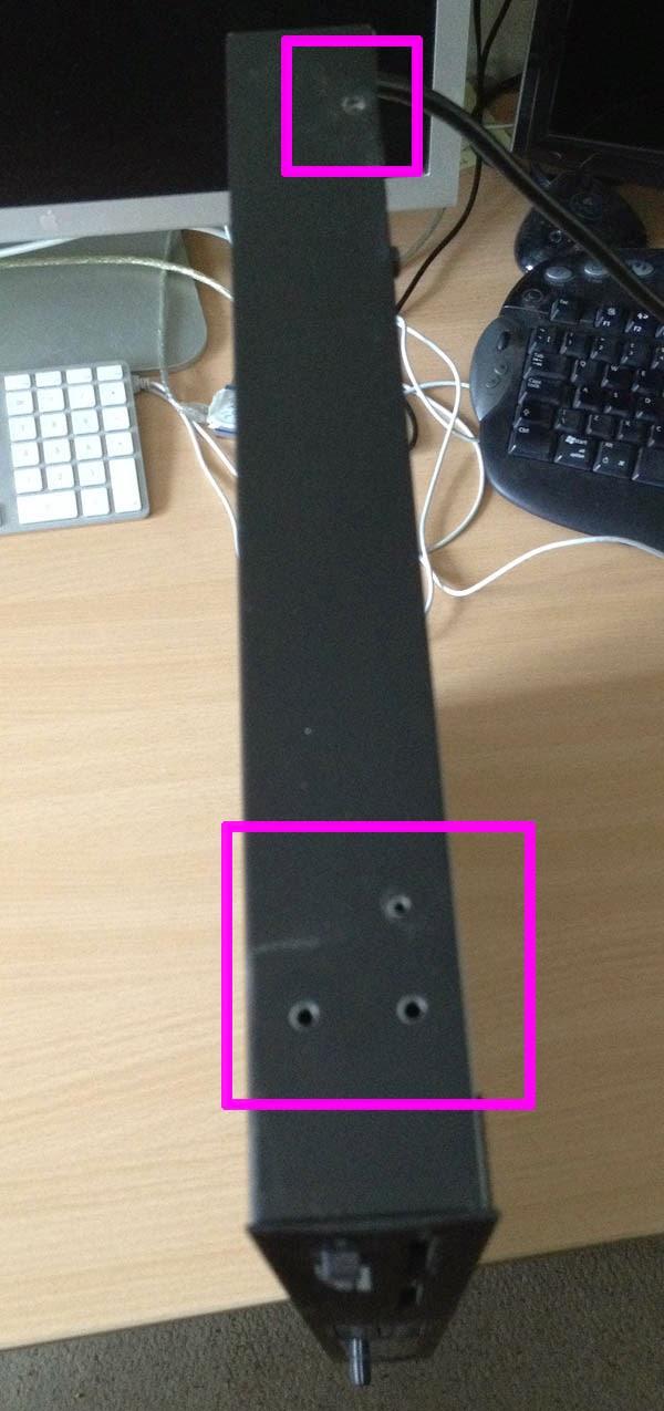 ROBGS' STUDIO BLOG: Korg M3r Battery Replacement