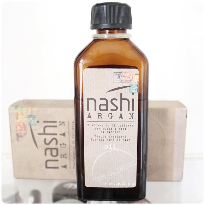 nashi argan yağı