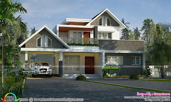 2000 square feet mixed roof 3 bedroom home