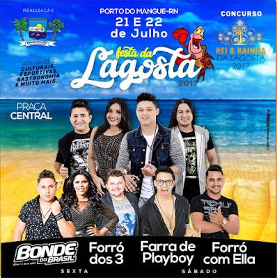 Prefeitura divulga programação da Festa da Lagosta em Porto do Mangue/RN