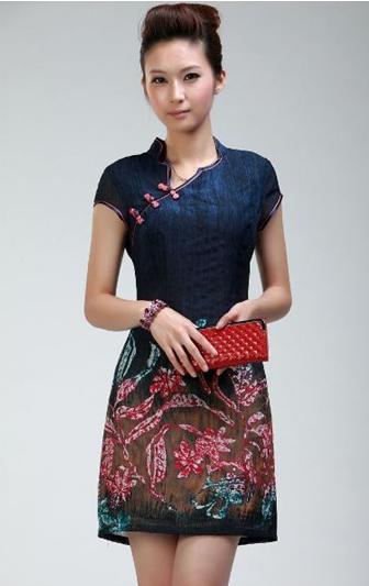 Model Baju Batik Wanita Modern Kombinasi 2016 - Busana Indonesia e9143df027