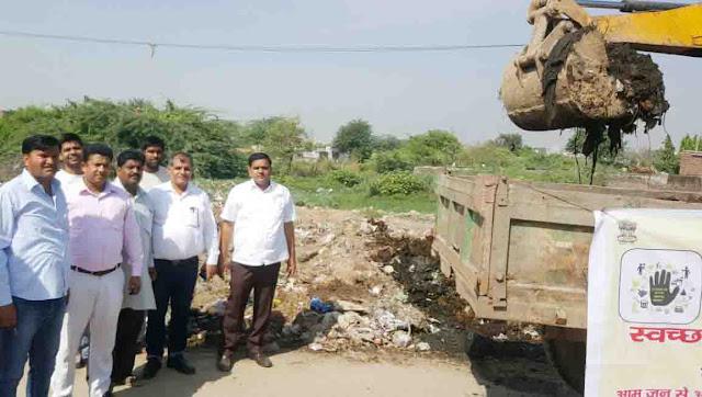 ward-no-25-clean-drive-munesh-ravi-bhadana