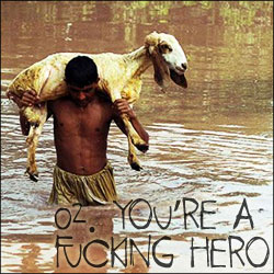 10 Reasons to Become Vegetarian: 02. You're a Fucking Hero